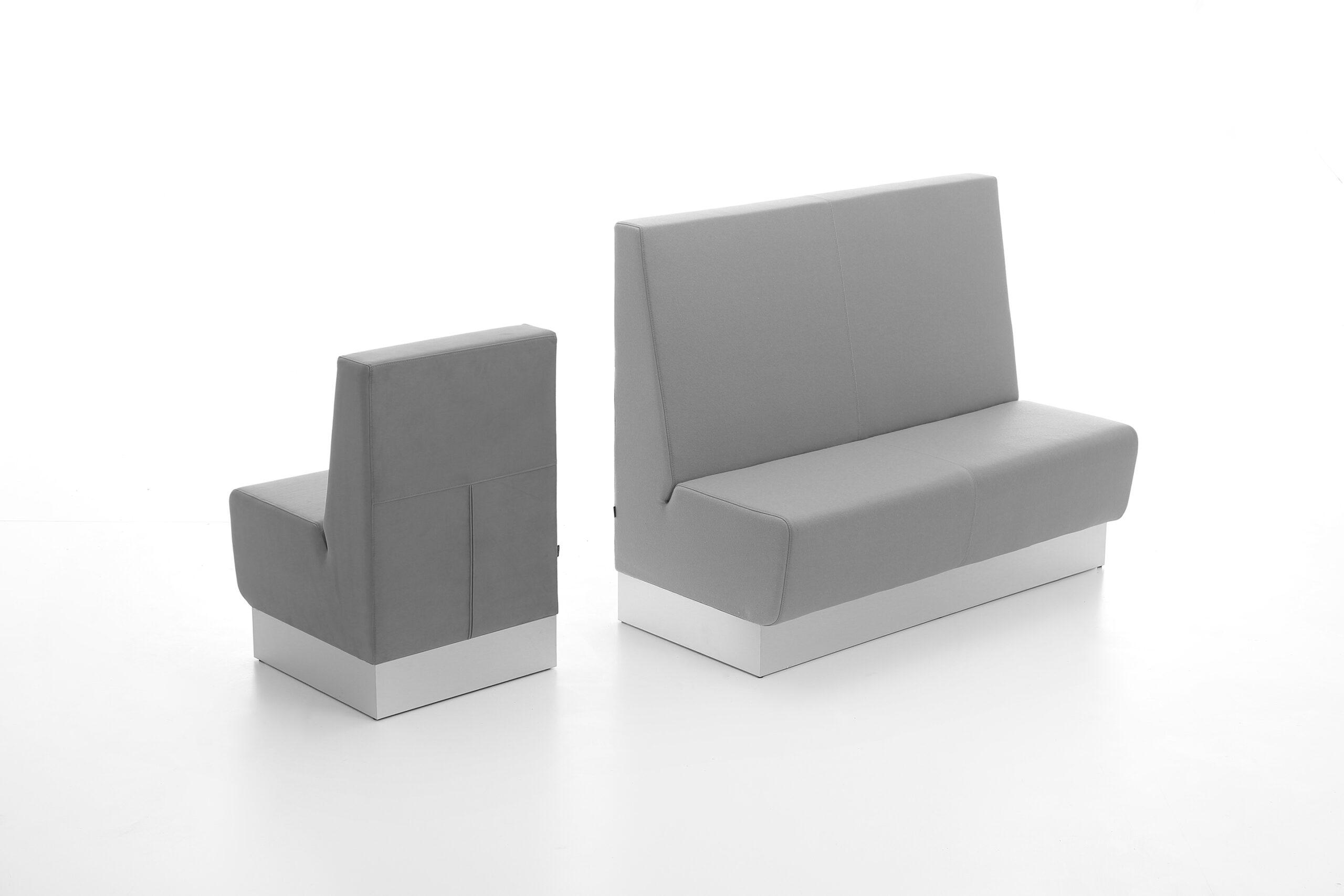 Aura Café-sofa i grå