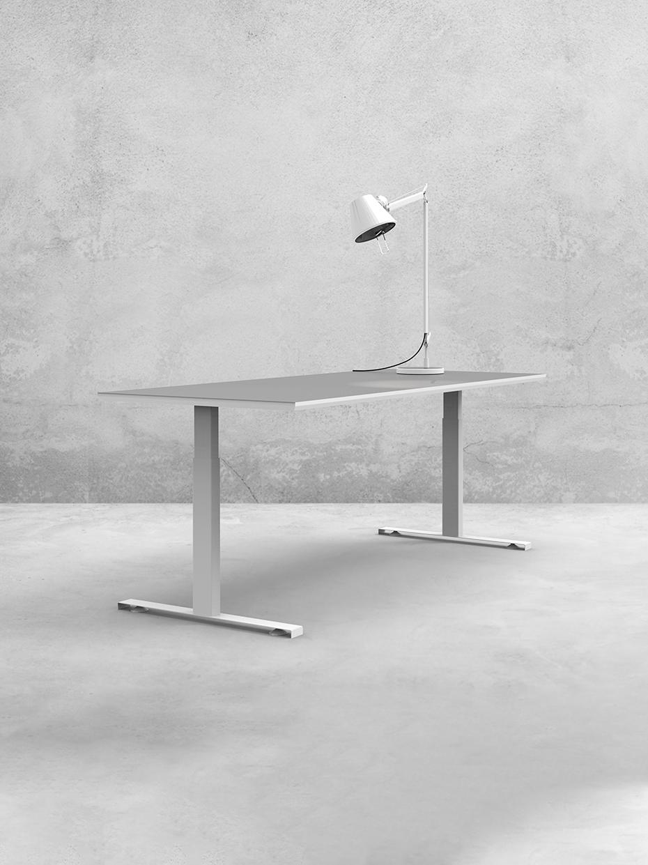 L-note-hæve-/sænkebord